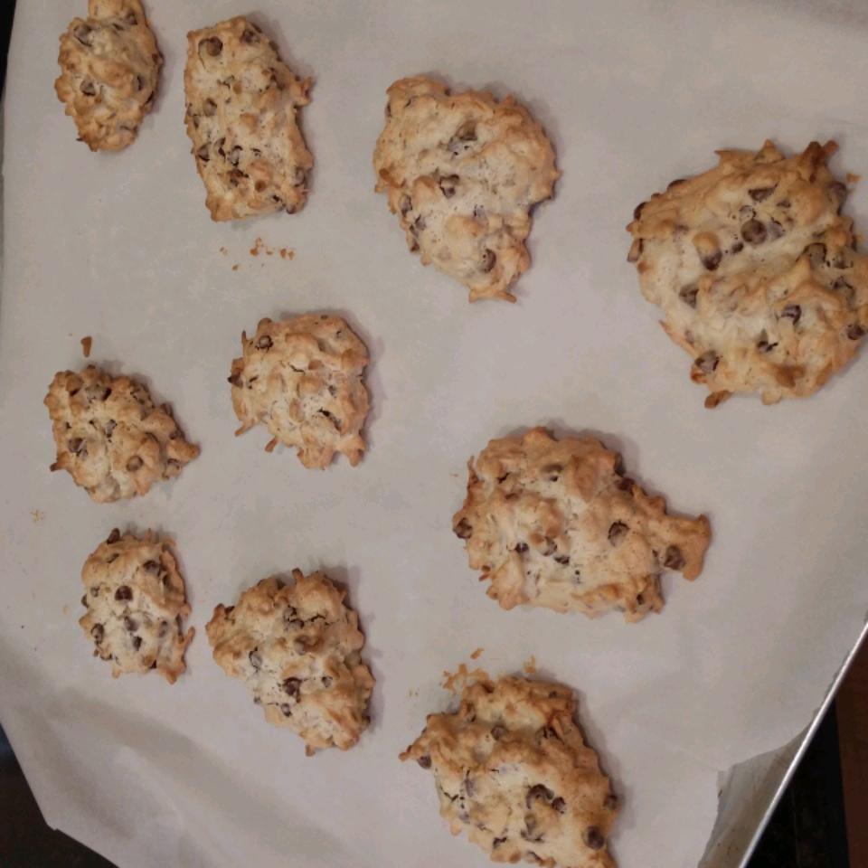 Almond Chocolate Coconut Cookies I Mary Miedema
