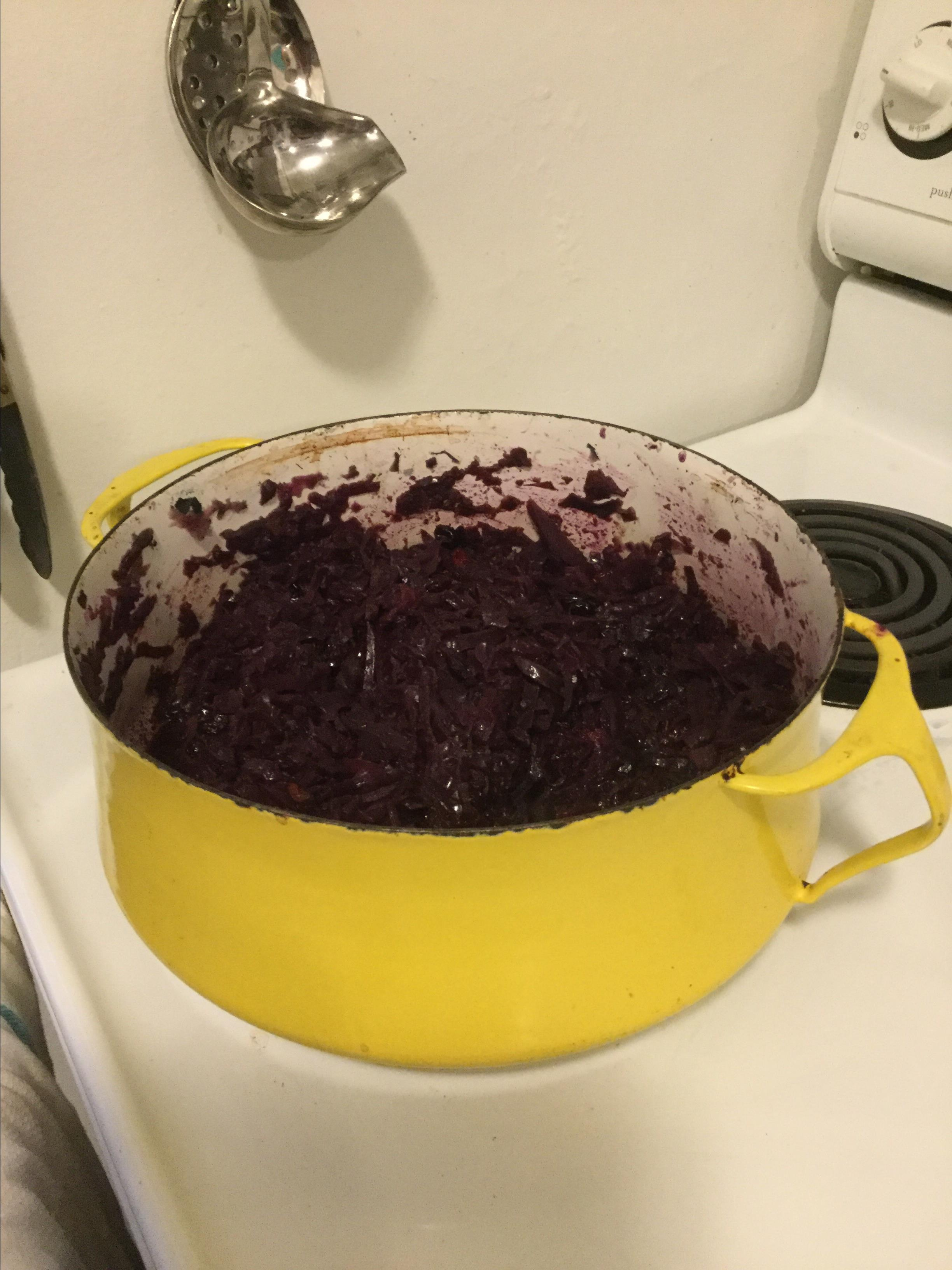 Grandma Jeanette's Amazing German Red Cabbage