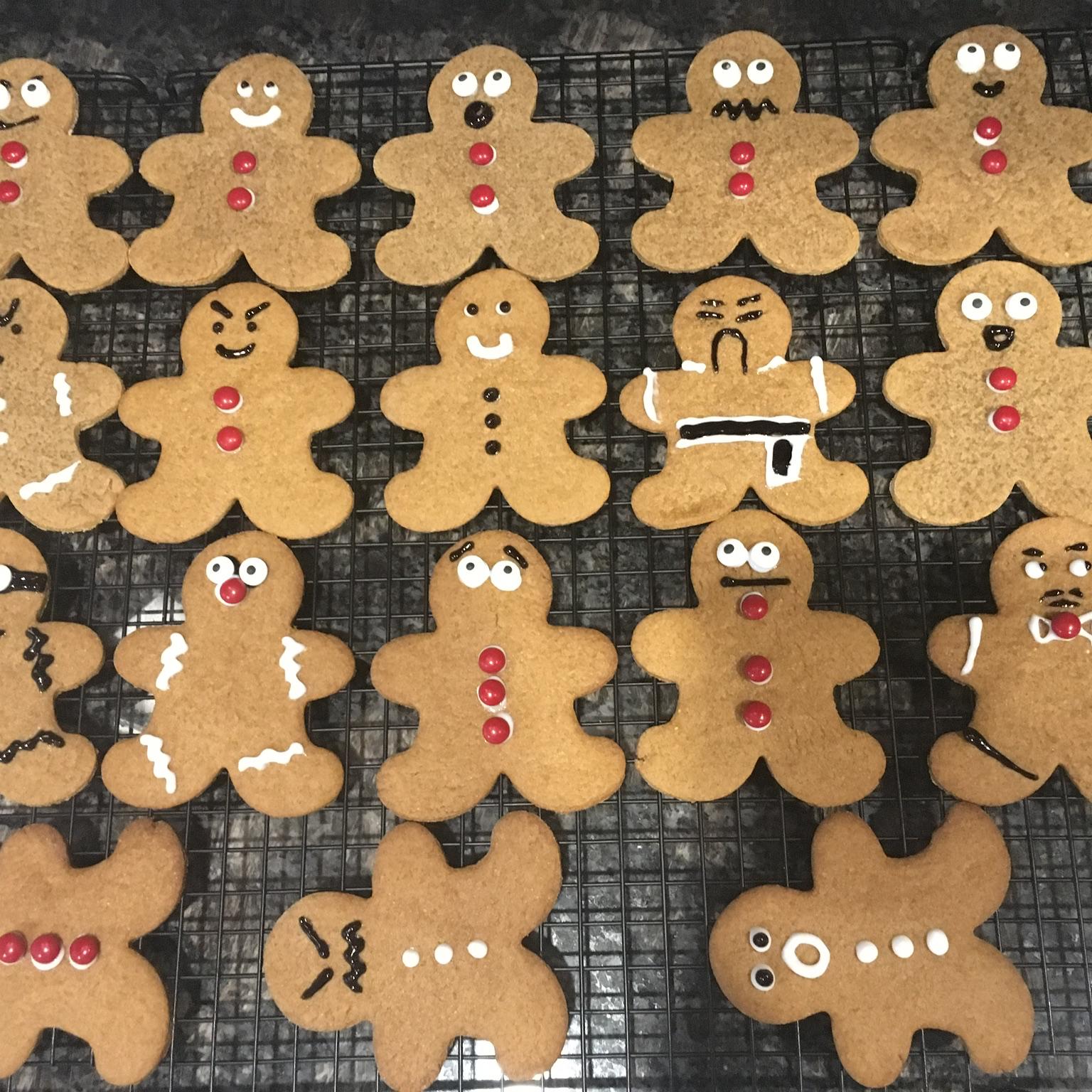 Gingerbread Men LAWCHO