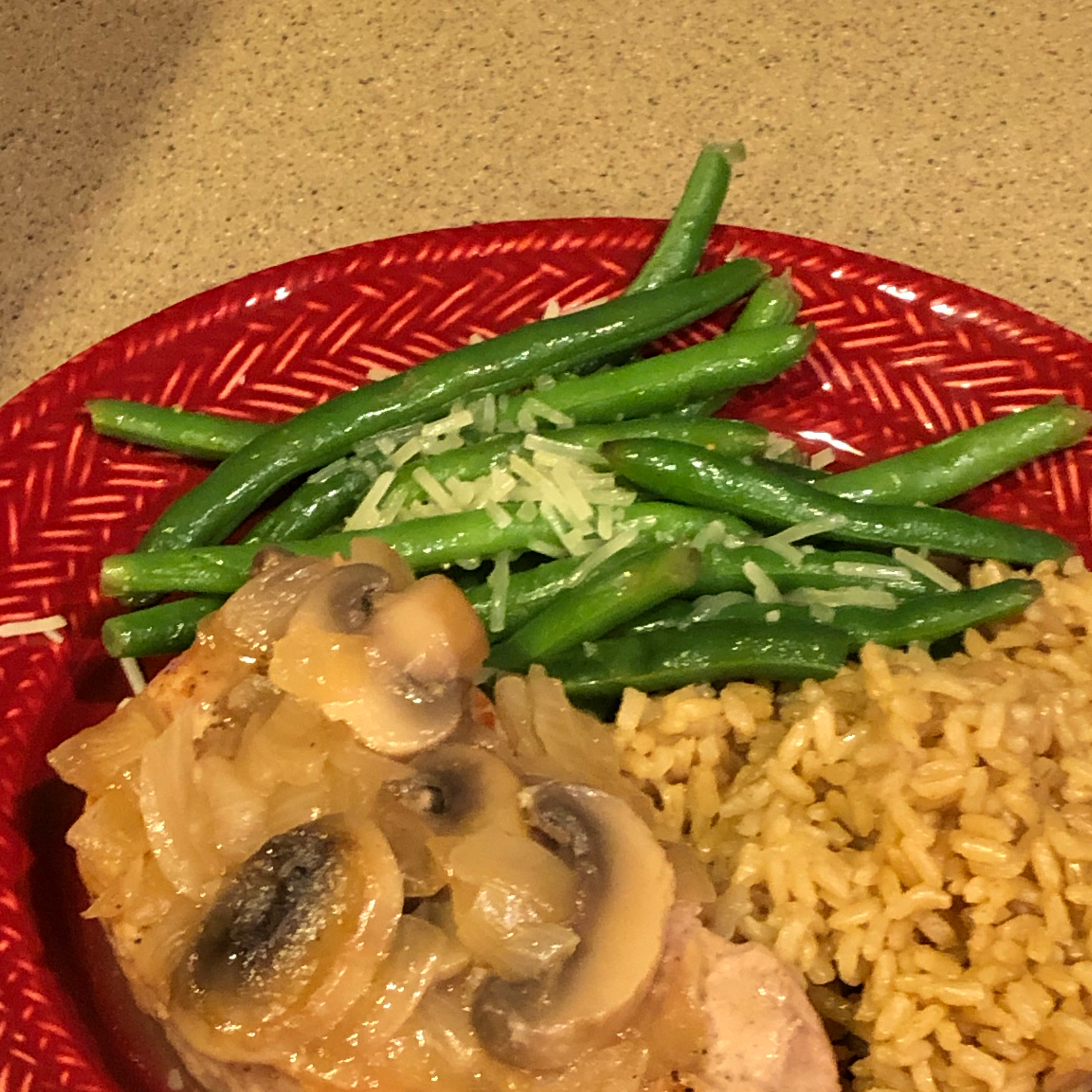 Pork Chops in a Mushroom Wine Sauce
