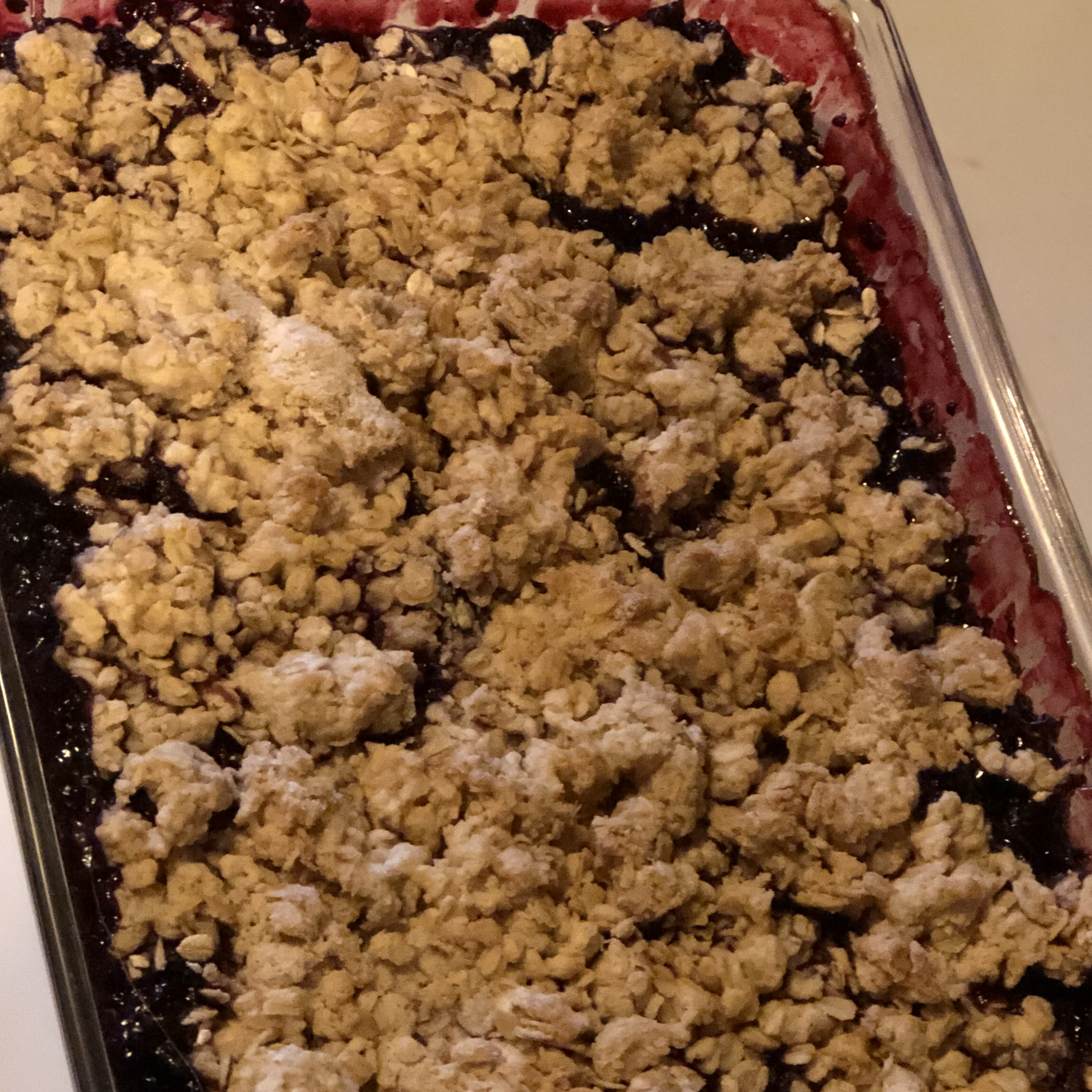 Crumbly Blackberry Cobbler
