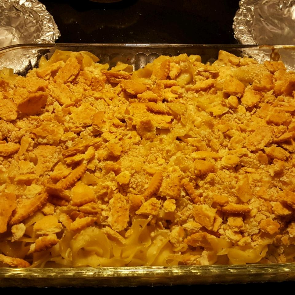 Chicken Noodle Casserole I Kayla Guthrie