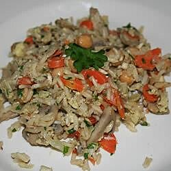 home style brown rice pilaf recipe