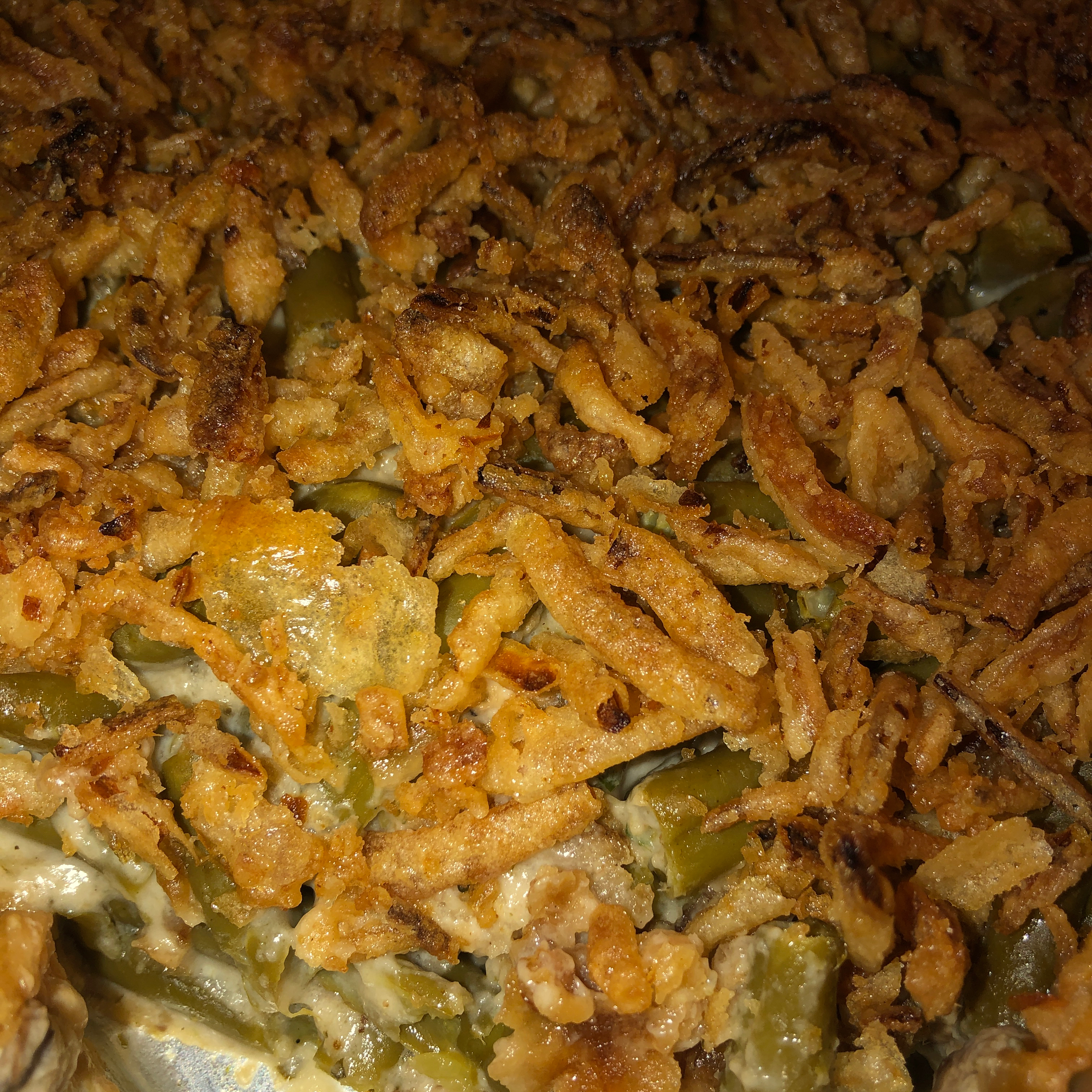 Green Bean Casserole with Canned Green Beans