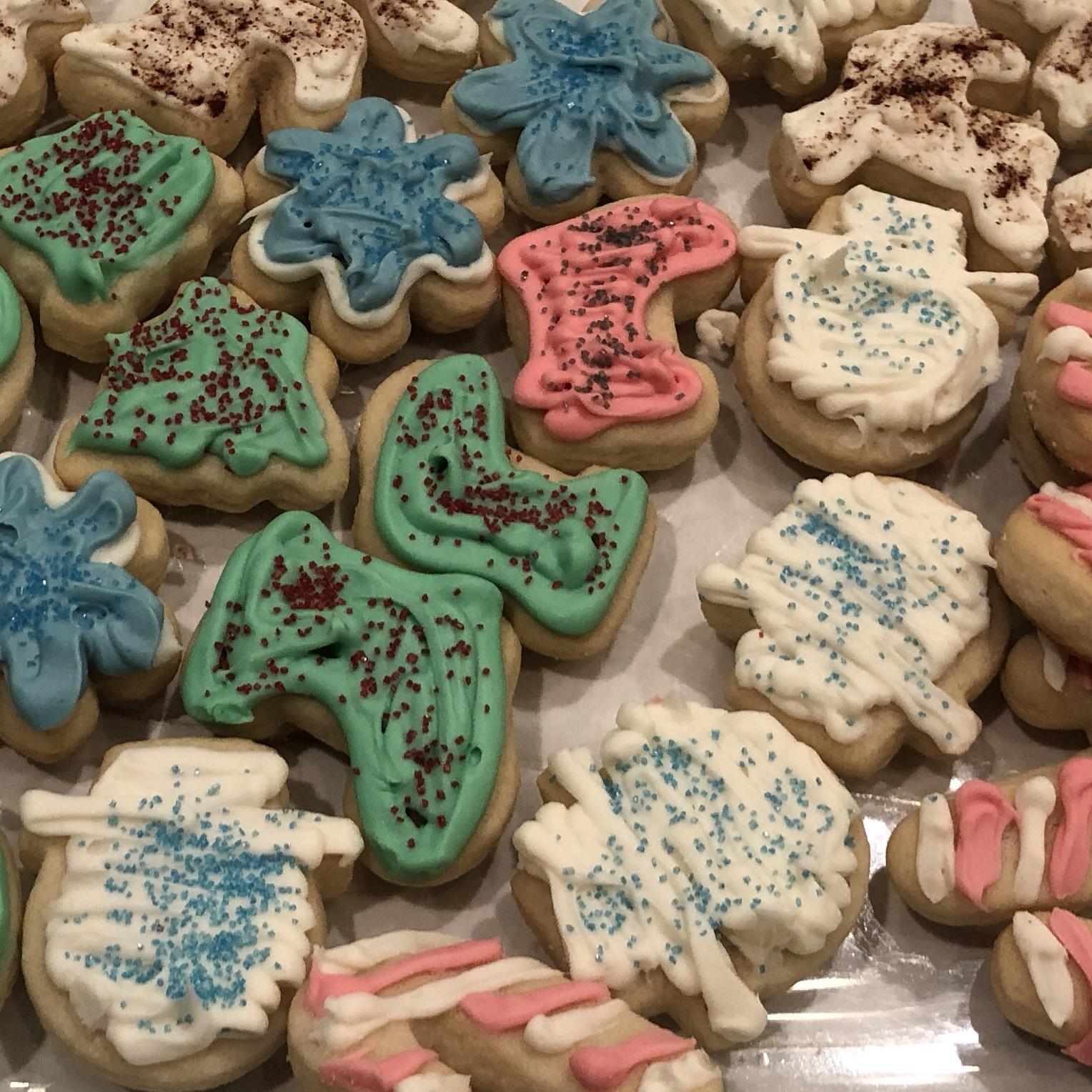 Soft Christmas Cookies Stephanie Velez
