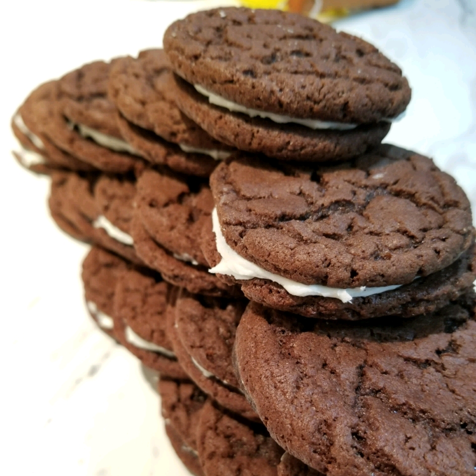 Homemade Chocolate Sandwich Cookies John Crandall