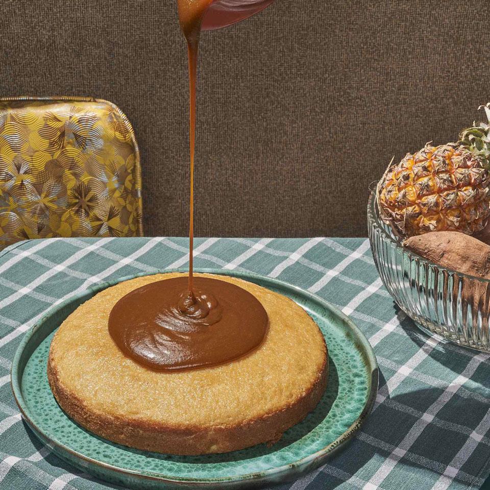 Caramel Cake Genevieve Ko