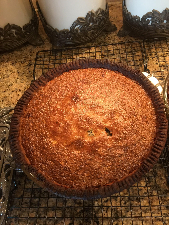 Walnut Raisin Pie