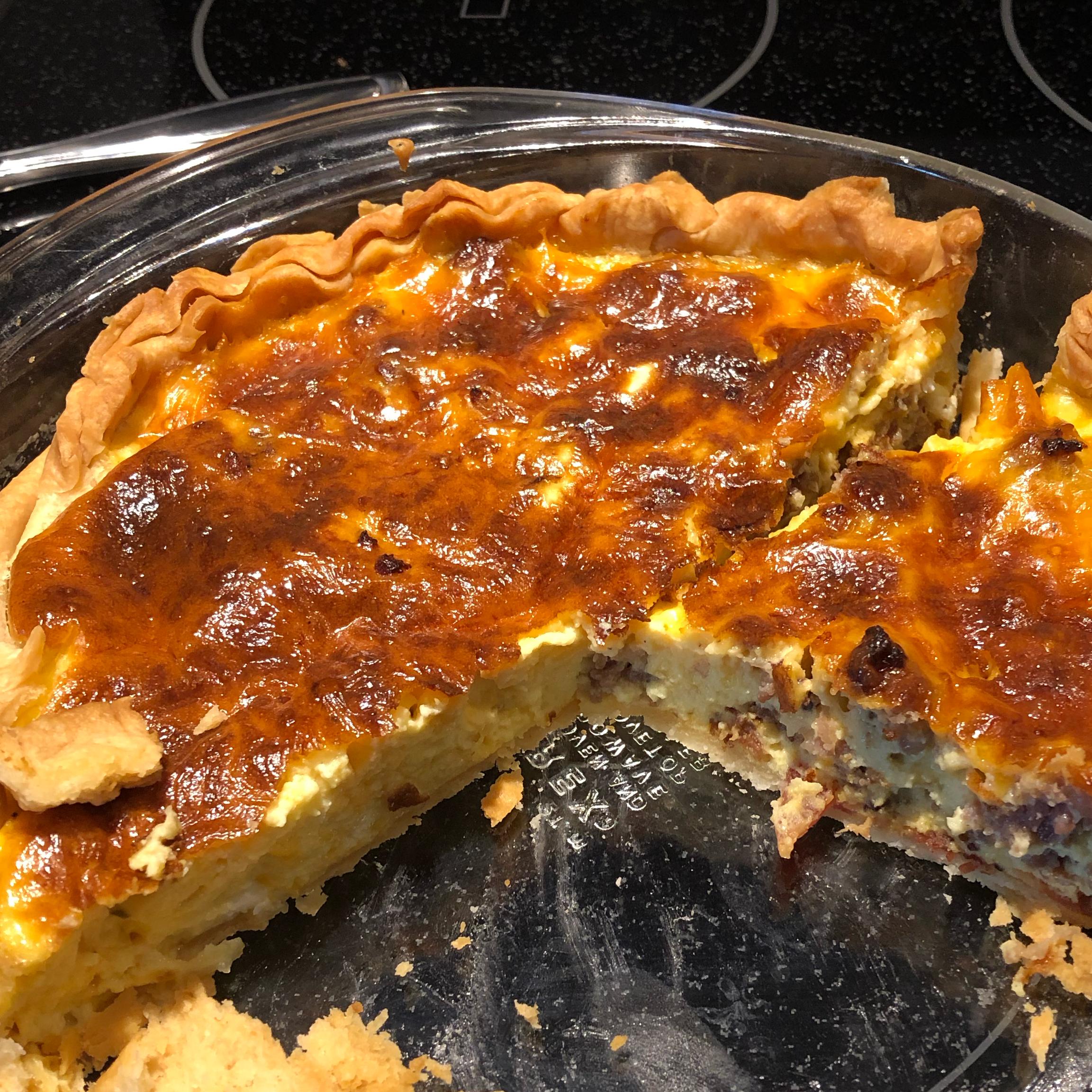 Quiche (Southern Egg Pie) Jarrod Echols