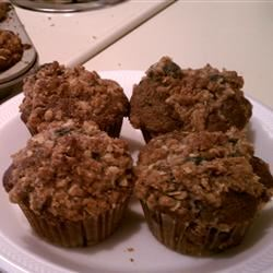 Streusel Topped Blueberry Muffins