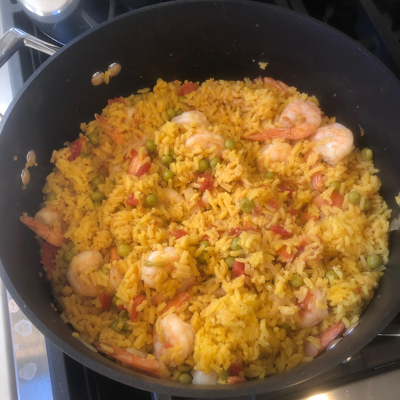 Shrimp Paella chitown mon