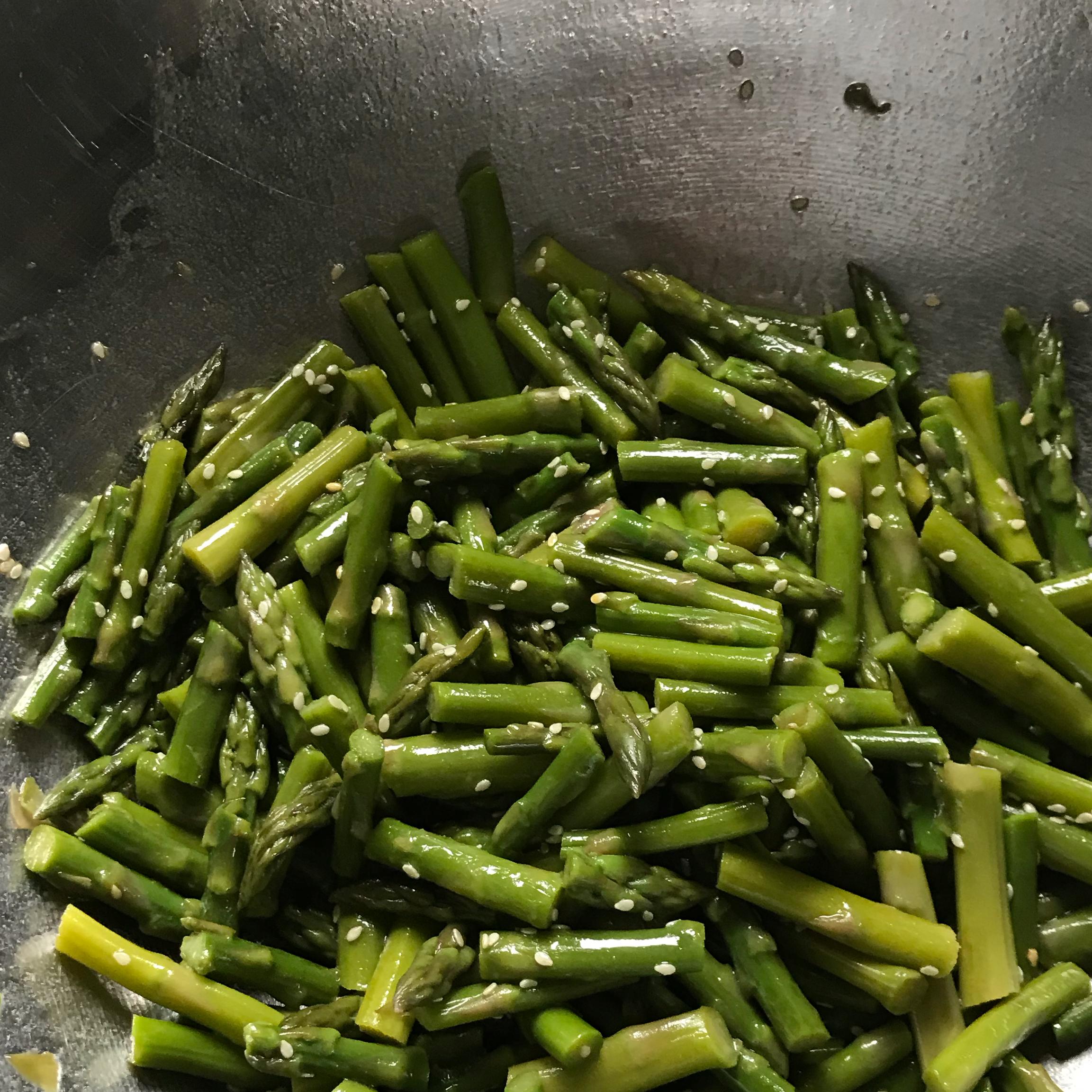 Spring Asparagus Salad Gibbons-O'Neill