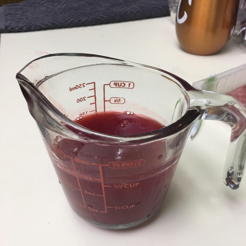 Fresh Raspberry Sauce