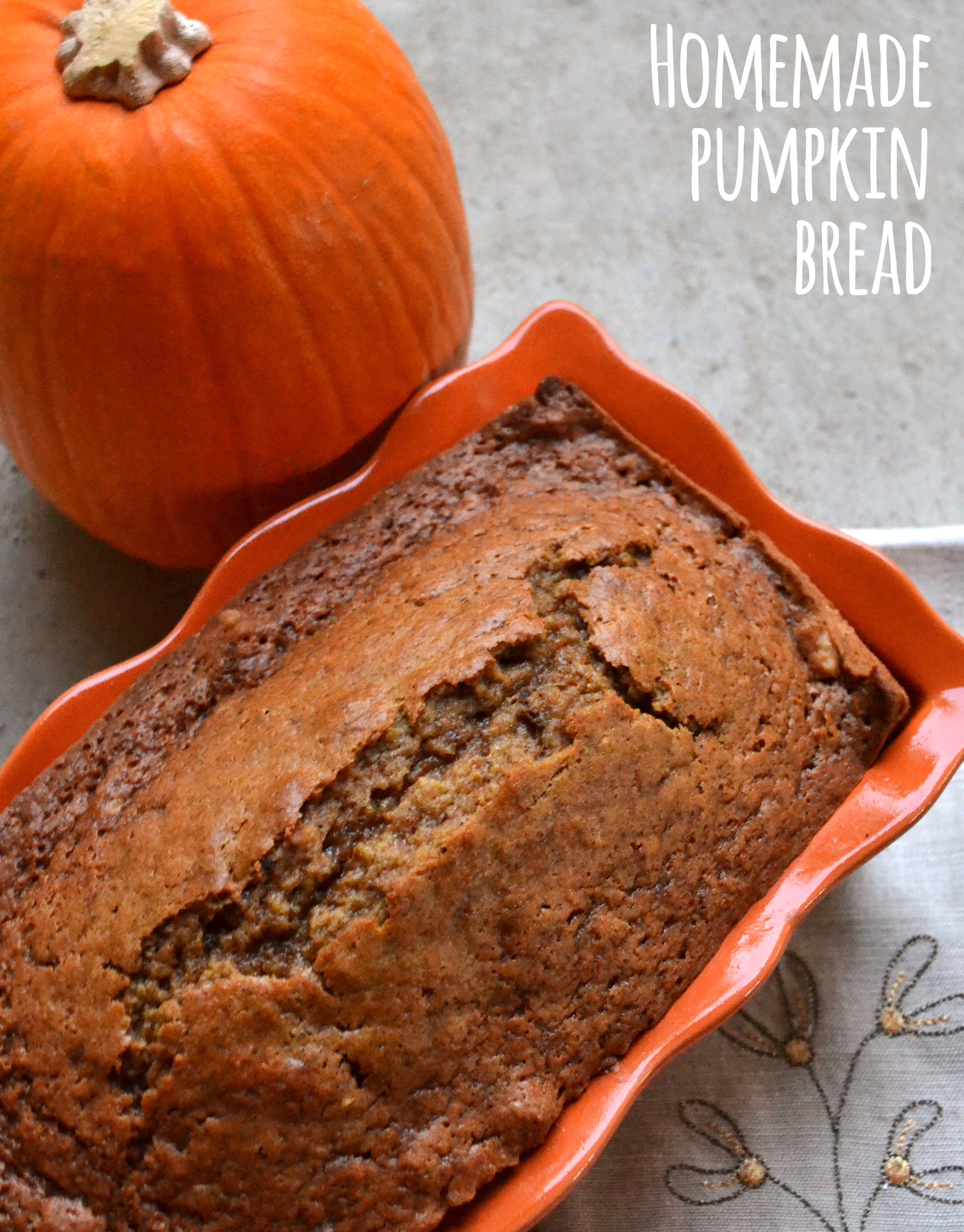 Pumpkin Bread with Raisins and Pecans