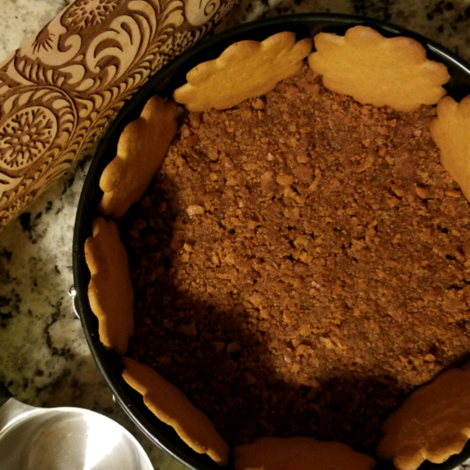 Holiday Ginger Snap Crust Asiya Hussain