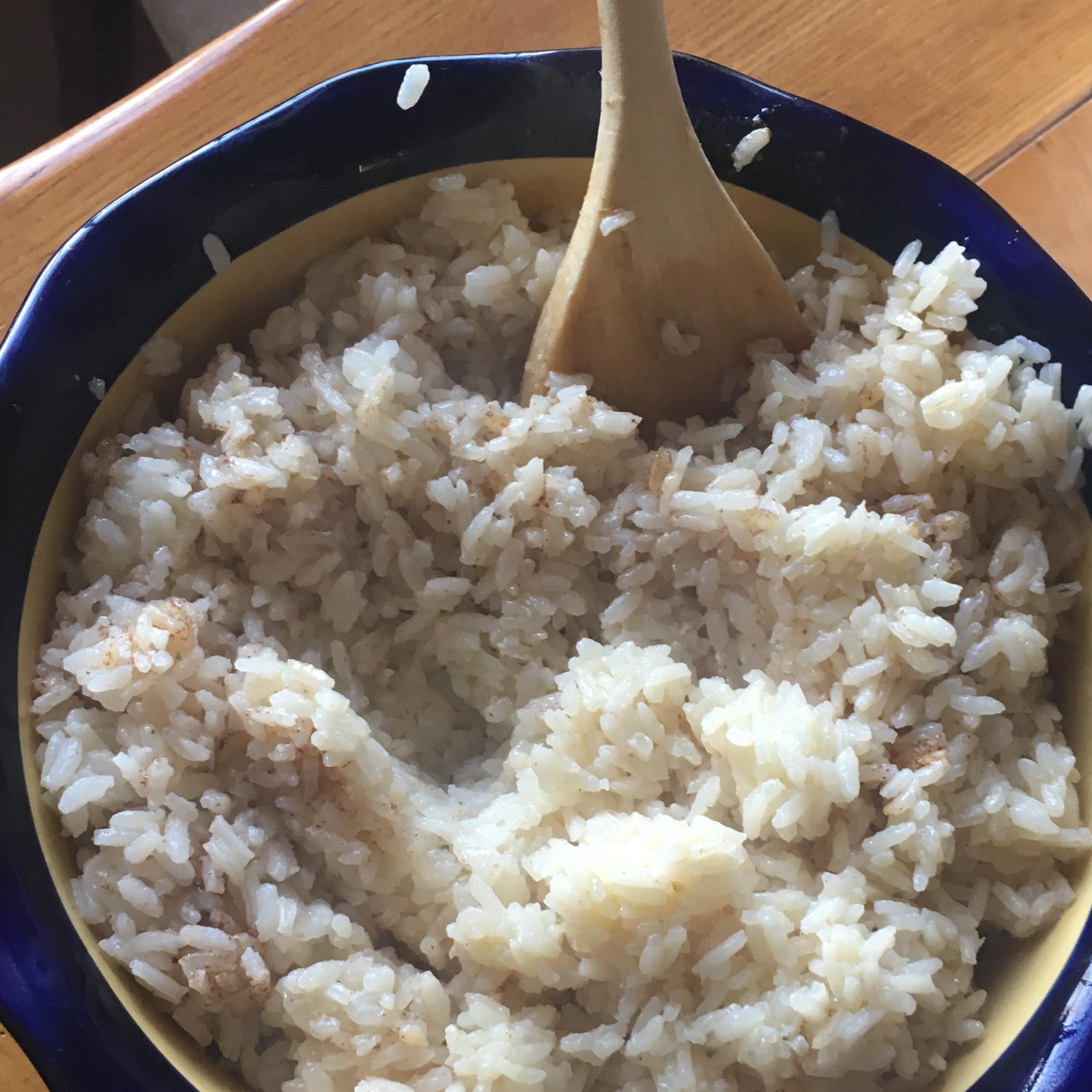 Burnt Butter Rice