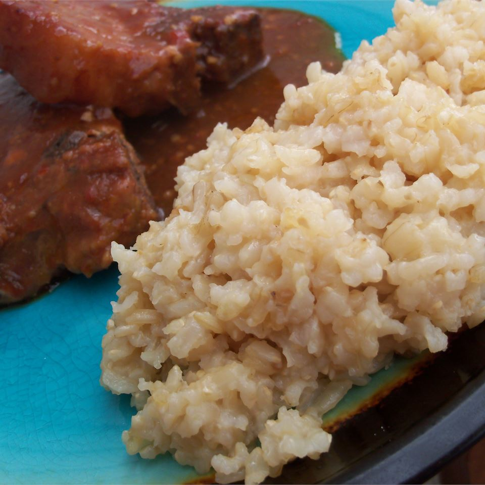 Oven Brown Rice