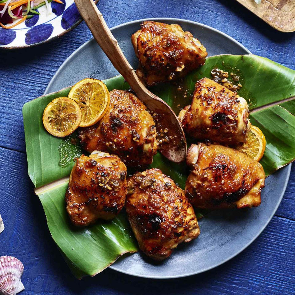 Huli Huli Chicken with Pineapple-Ginger Sauce EatingWell Test Kitchen