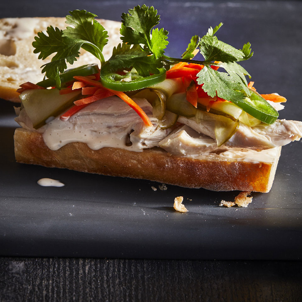 Roasted Chicken Banh Mi Robin Bashinsky