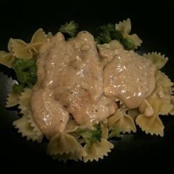 Garlic Creamed Chicken