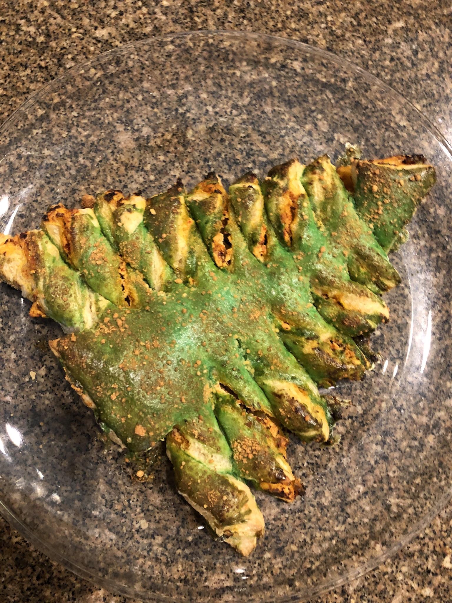 Savory Puff Pastry Christmas Tree Brookside Bistro