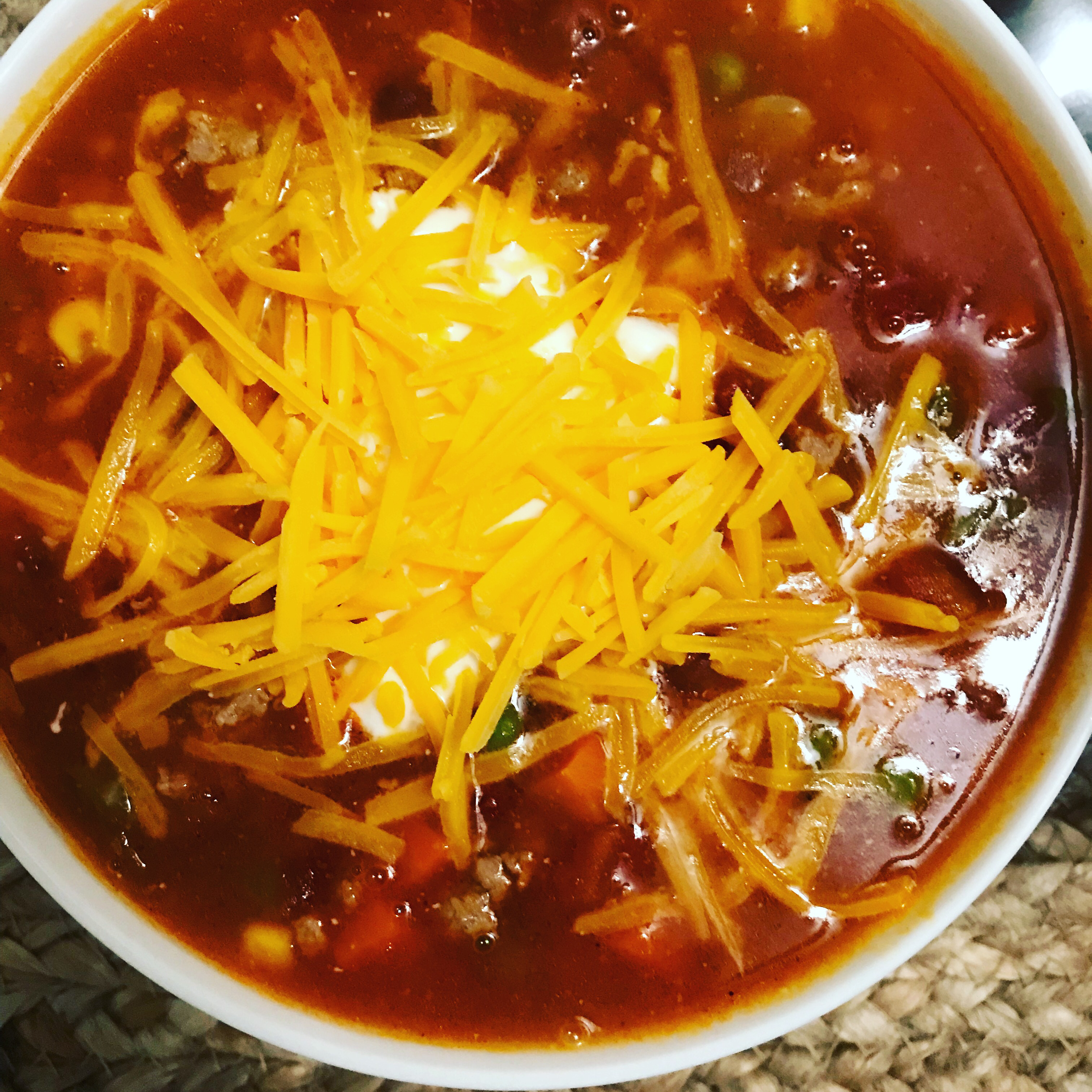 Easy Turkey Taco Soup clutchpearl