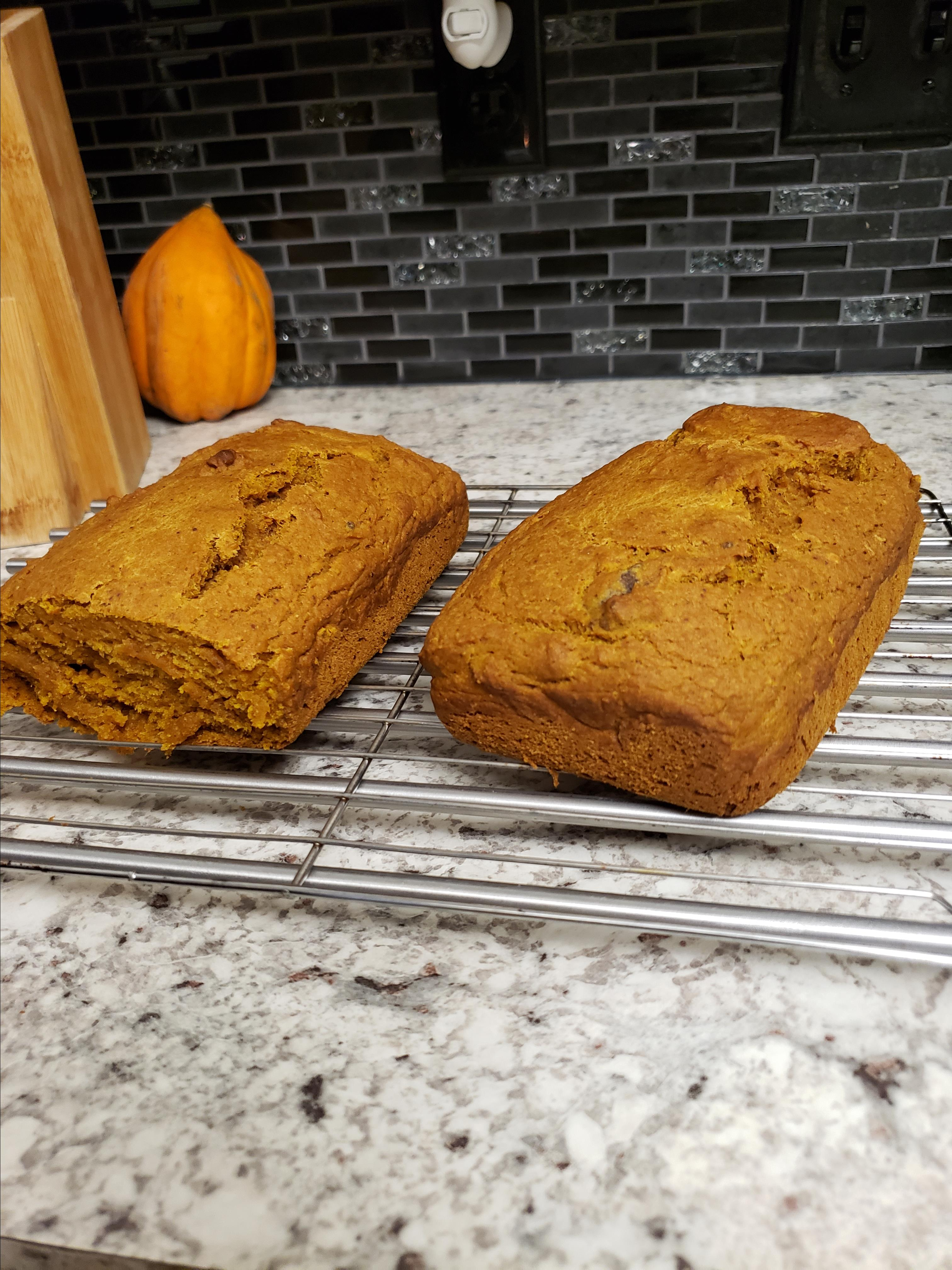 Amazing Vegan Pumpkin Bread