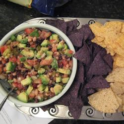Texas Caviar with Avocado LittleMissCooker