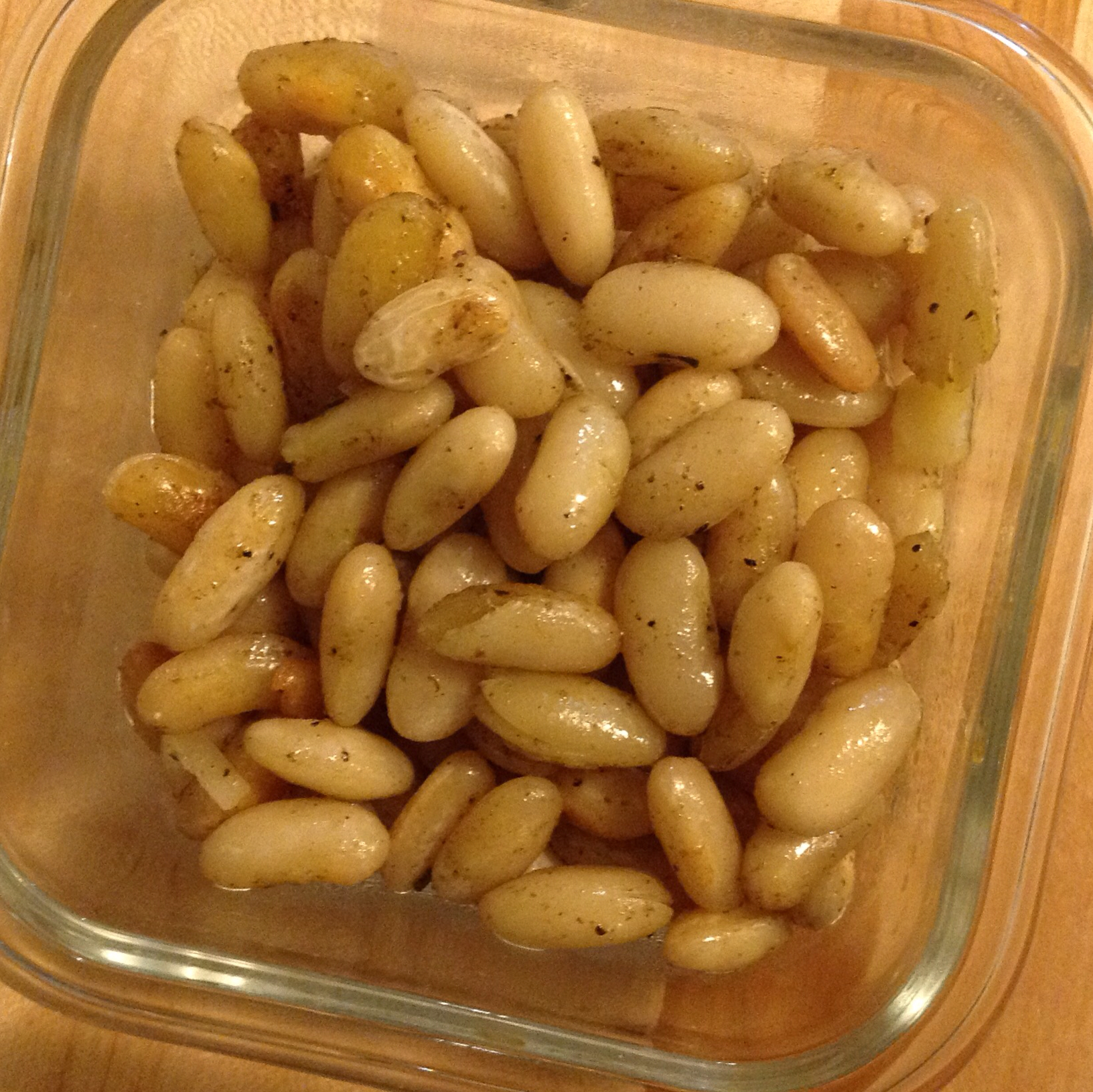 Sage Fried White Beans Dani11e