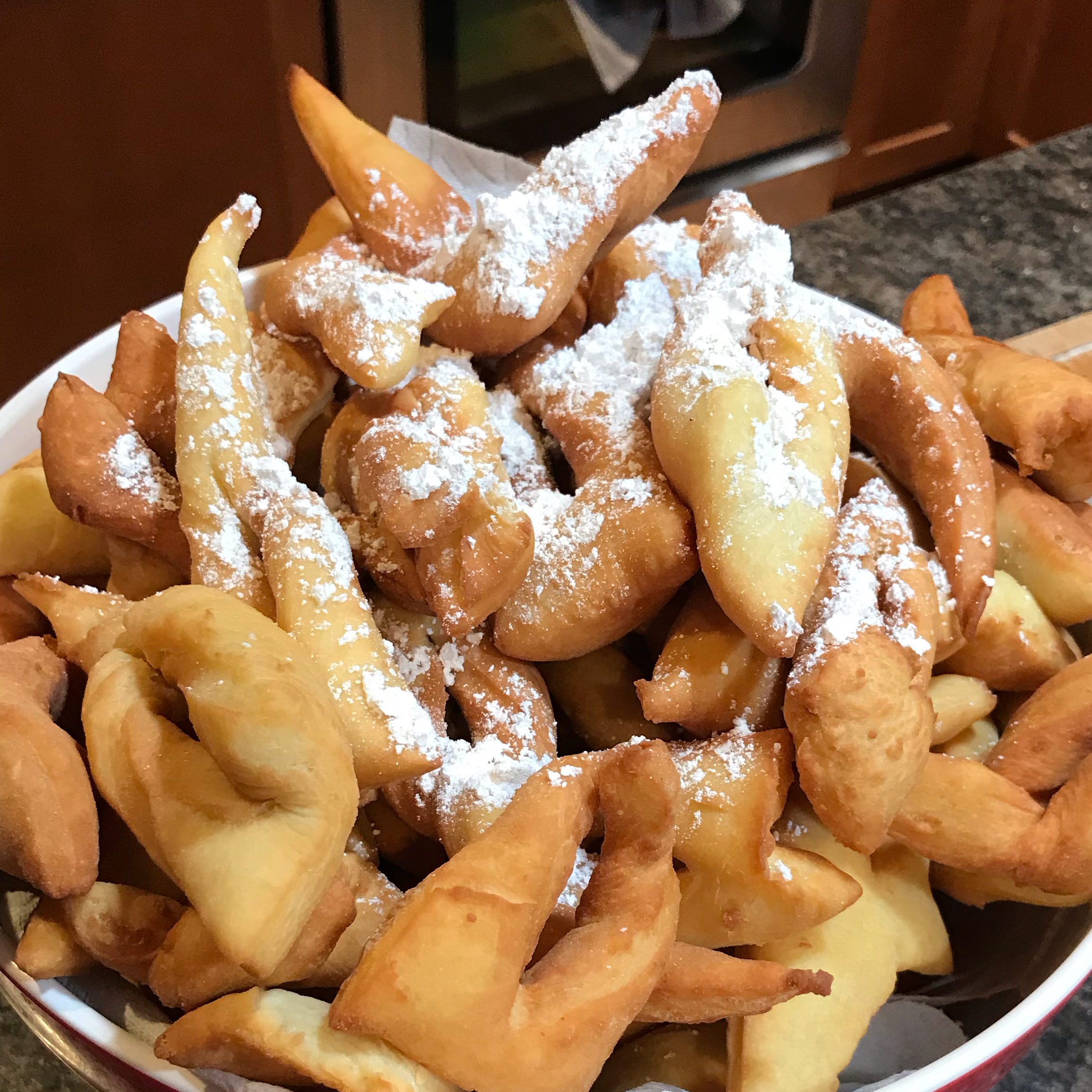 Bugnes Moelleuses (French Doughnuts)