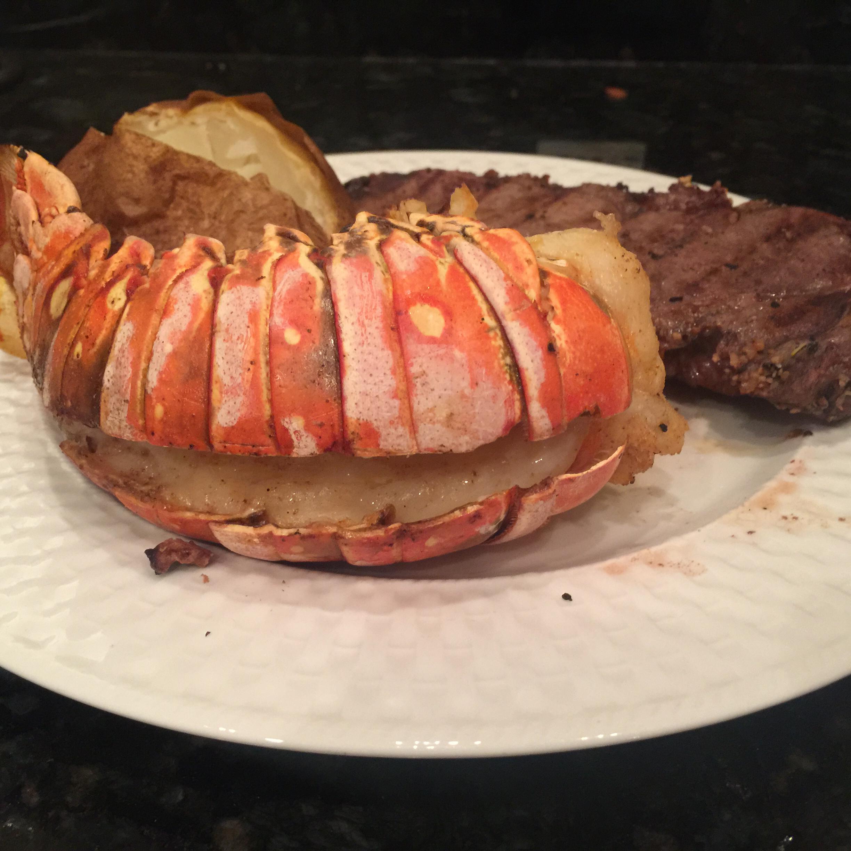 Grilled Rock Lobster Tails Depublic