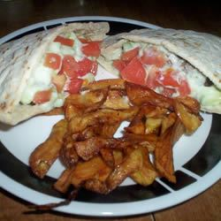 Grilled Gyro Burgers Miss Kitty