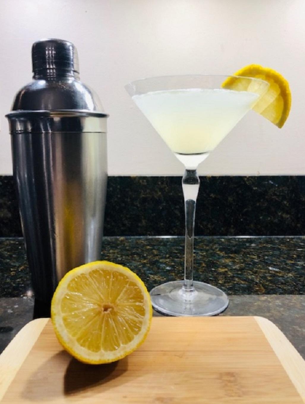 Classy Lemon Drop Martini