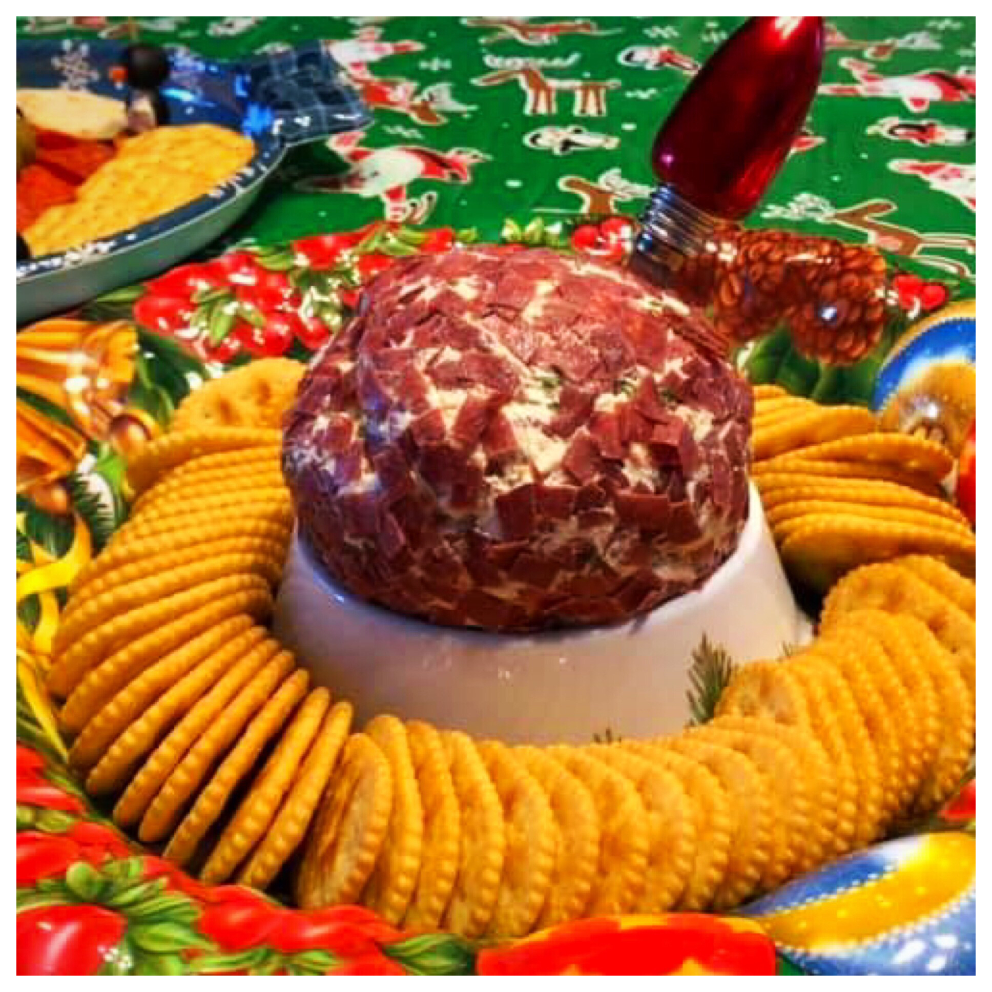 Dried Beef Cheese Ball William Schaper