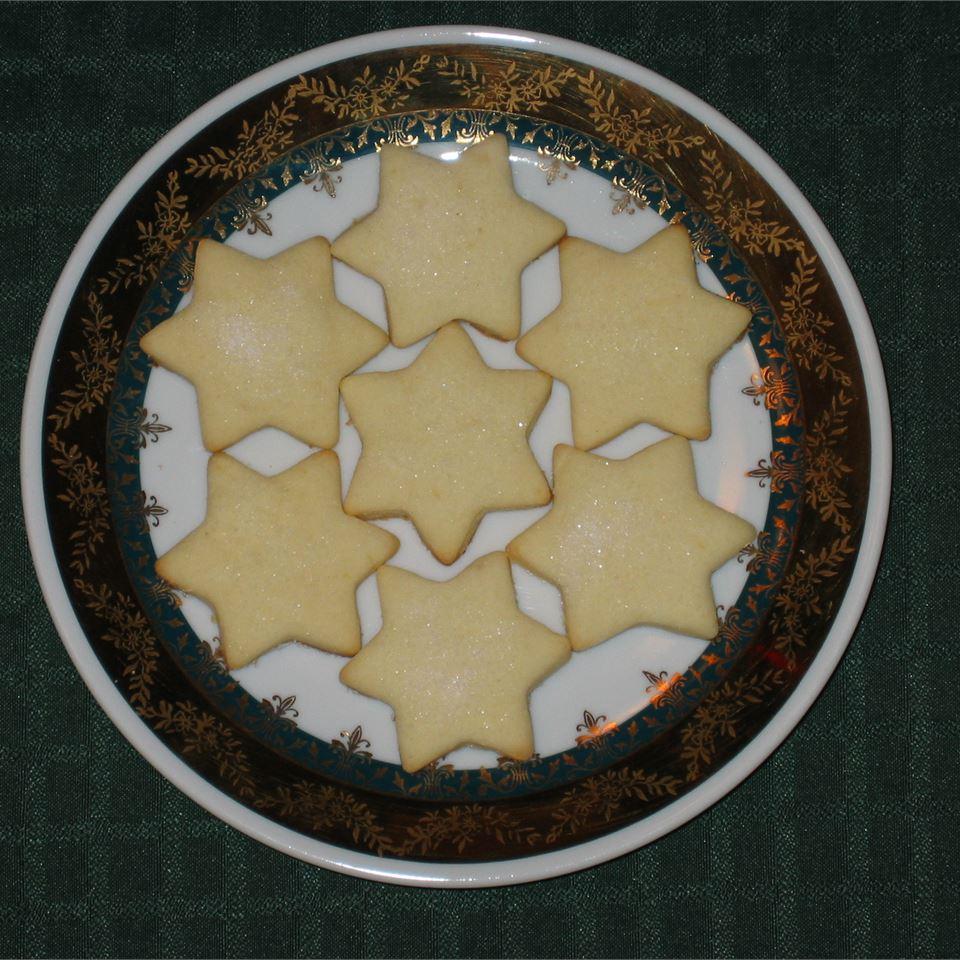 Lemon Butter Cookies Ingrid