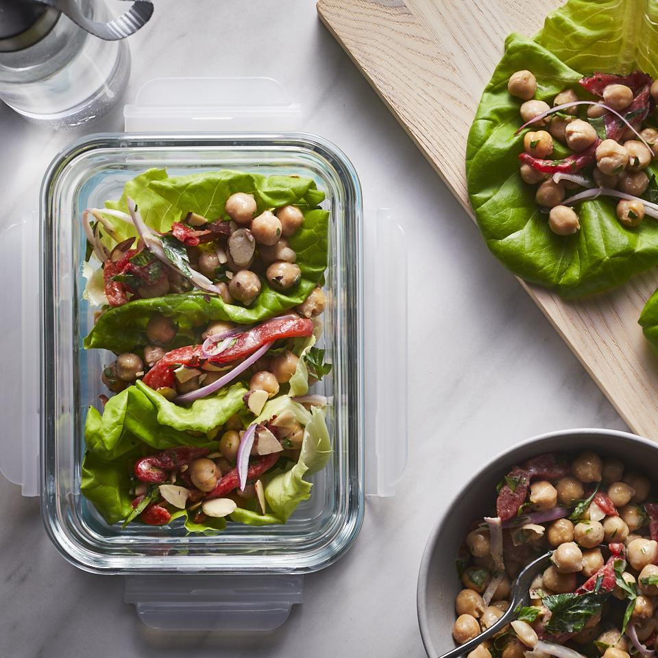 Mediterranean Lettuce Wraps Robin Bashinsky