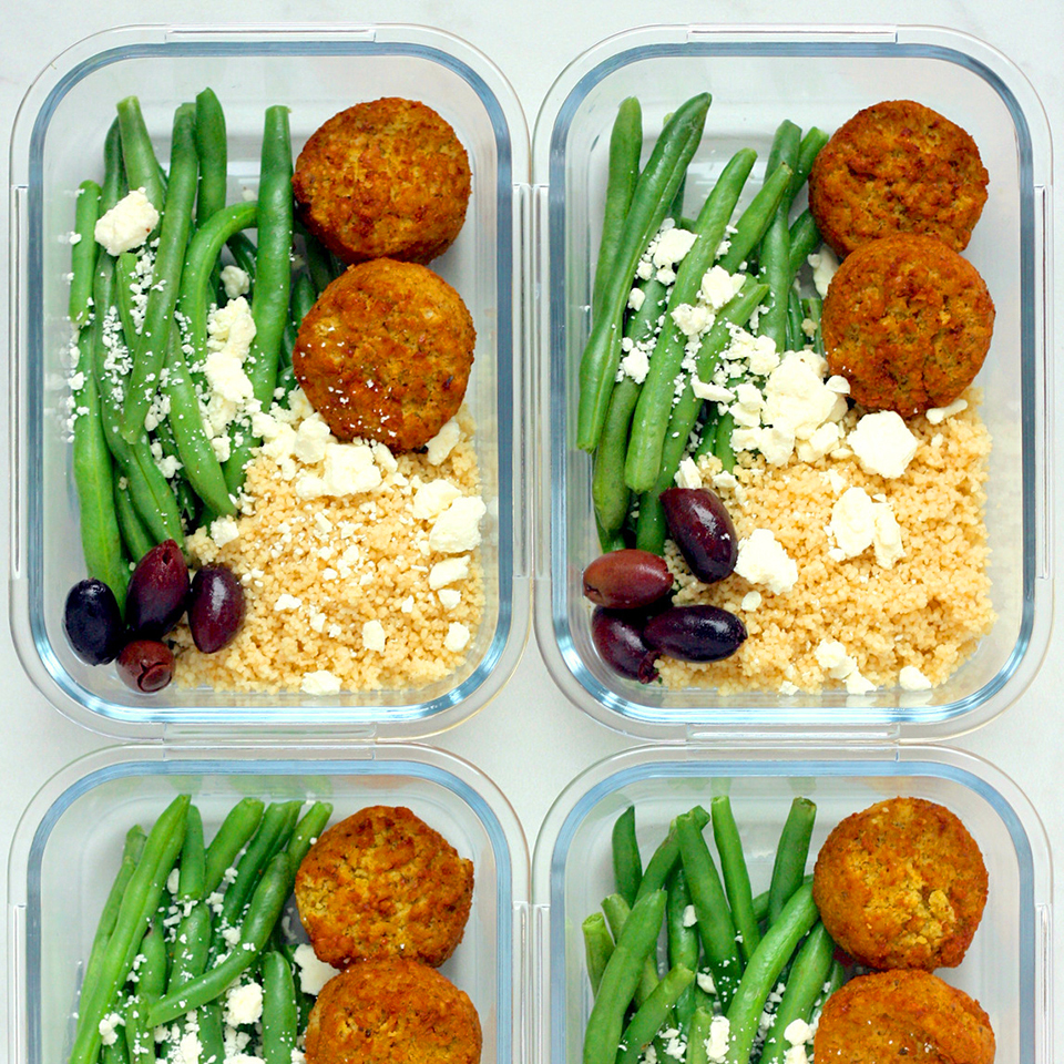 Meal-Prep Falafel Bowls with Tahini Sauce Carolyn A. Hodges, R.D.