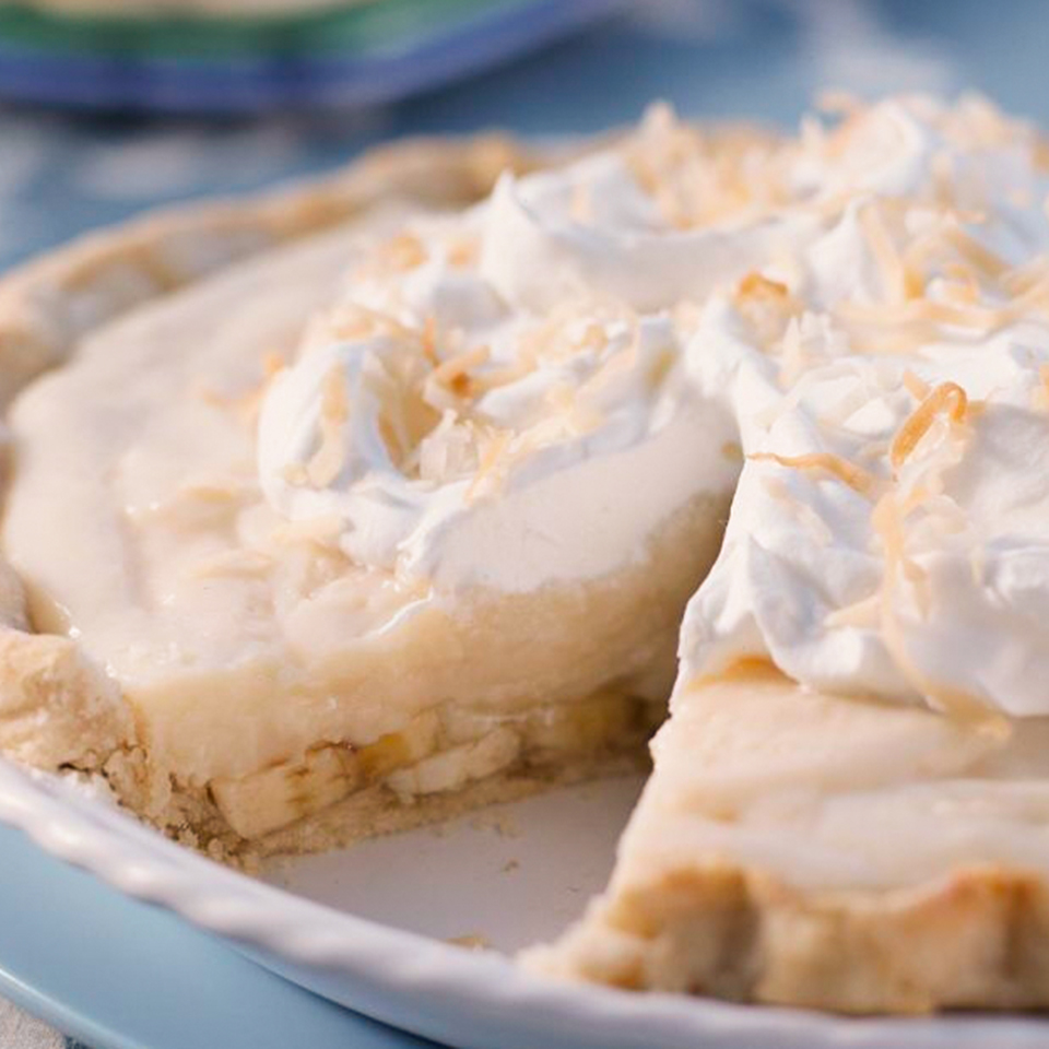 Coconut Banana Cream Pie Diabetic Living Magazine