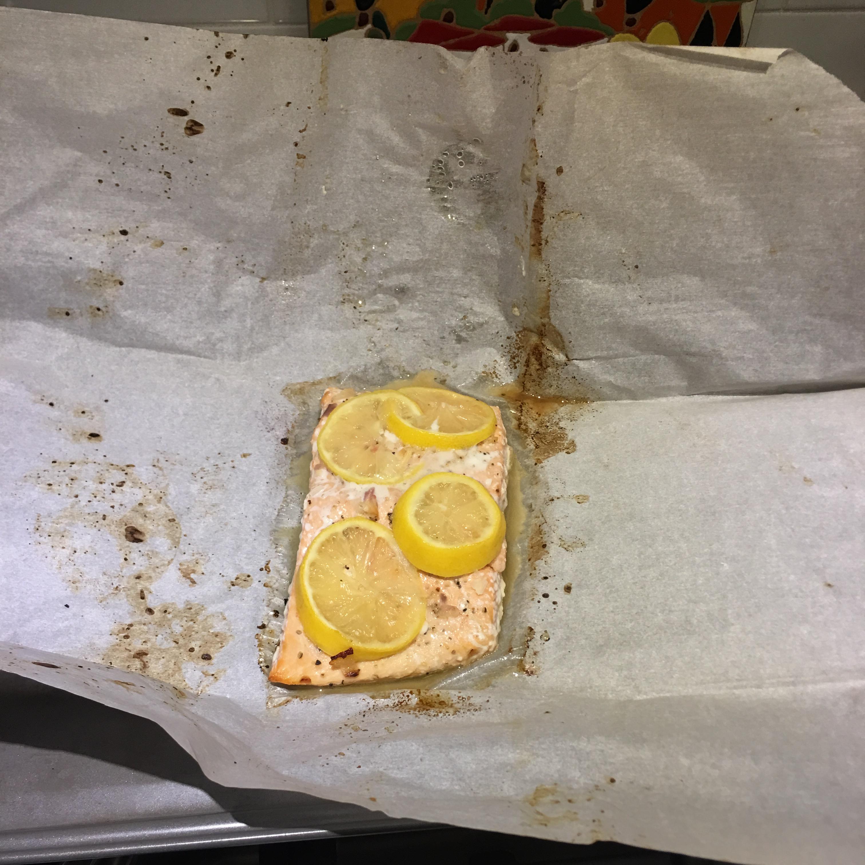 Parchment Baked Salmon KATY J