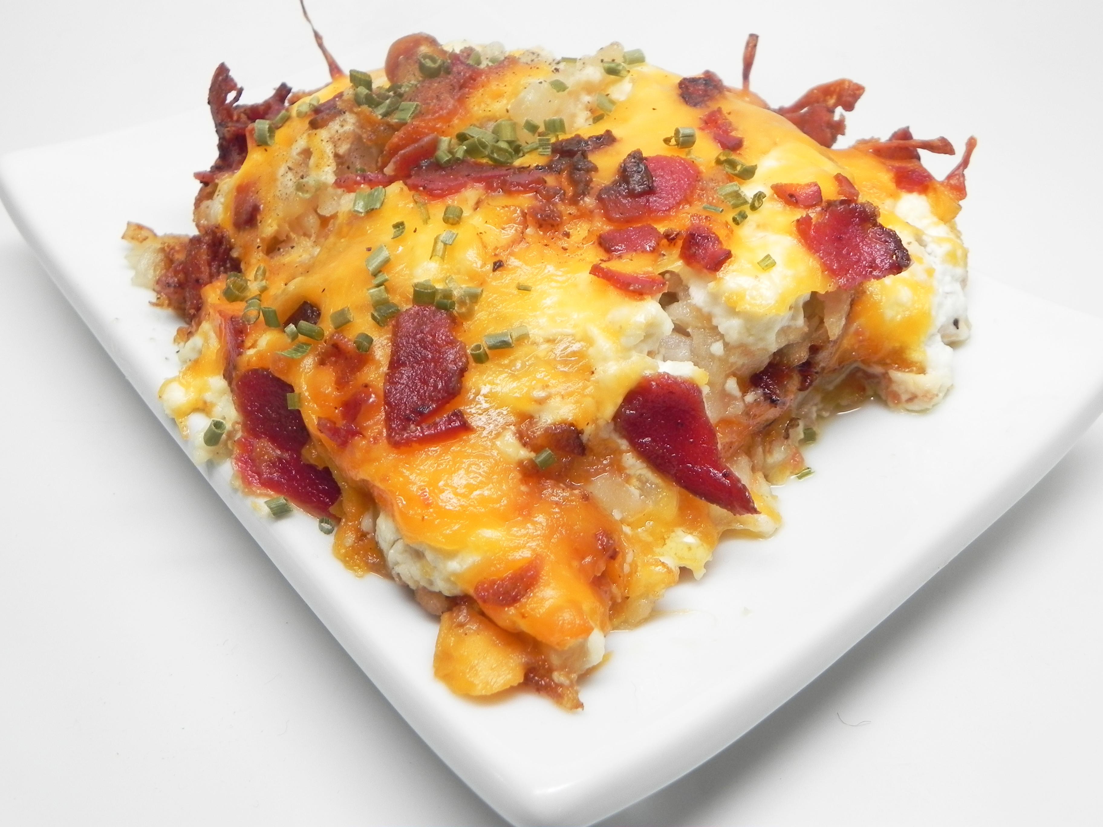 Loaded Hash Brown Potato Casserole