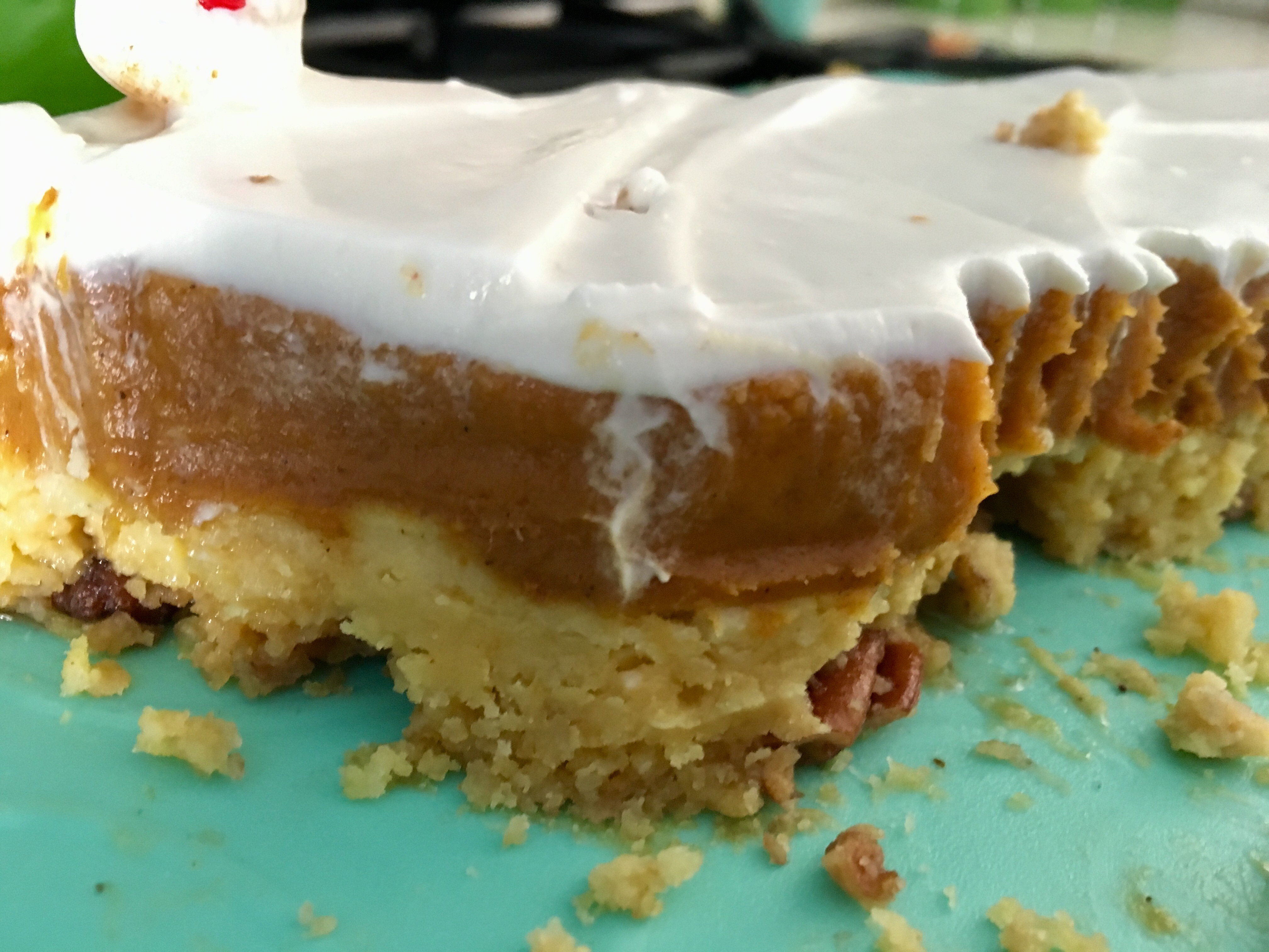 Pumpkin Crunch Cake with Cream Cheese Frosting Emily Kennedy