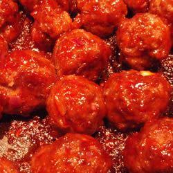 Honey-Garlic Glazed Meatballs ROYSAPER
