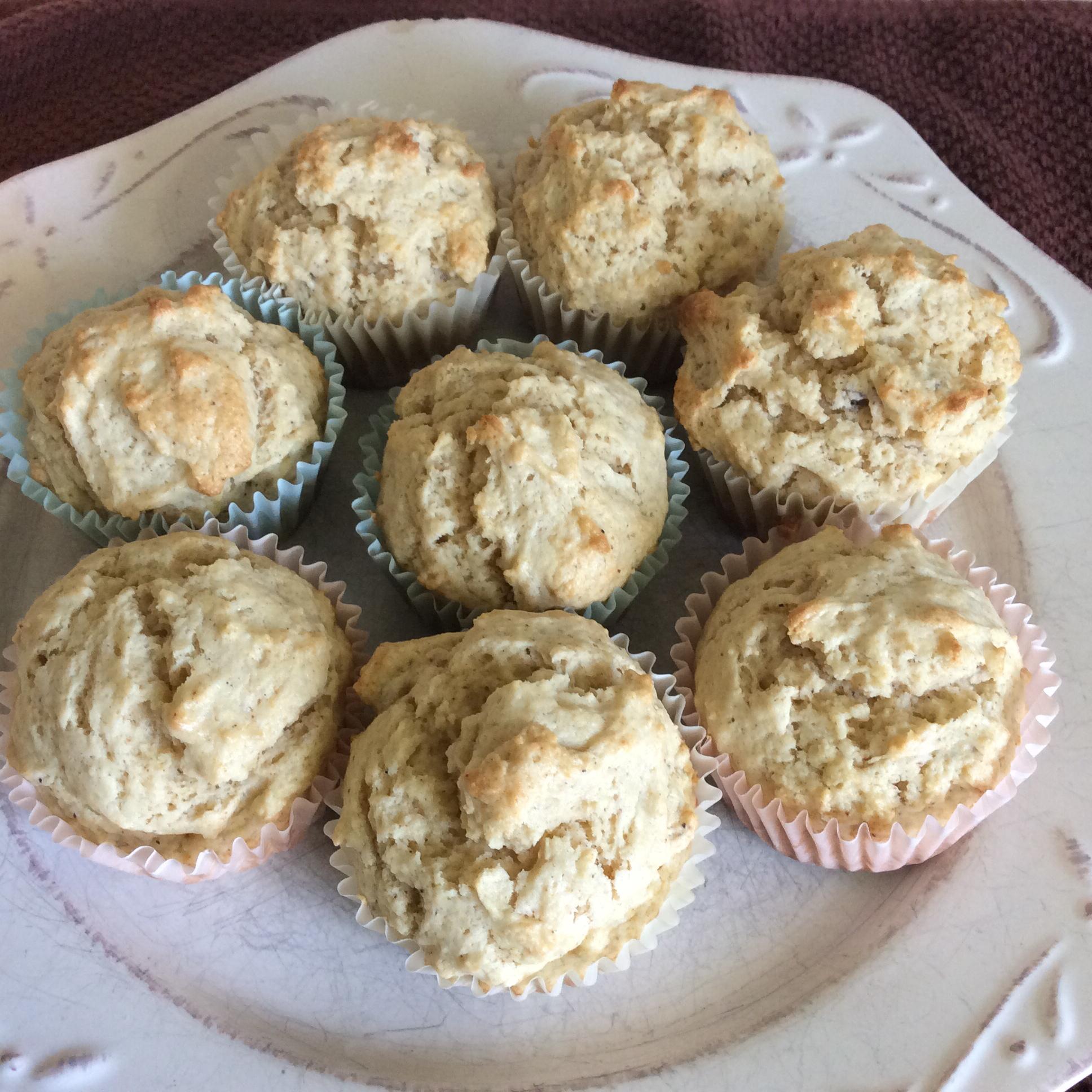 Eggnog Rum Muffins JLO