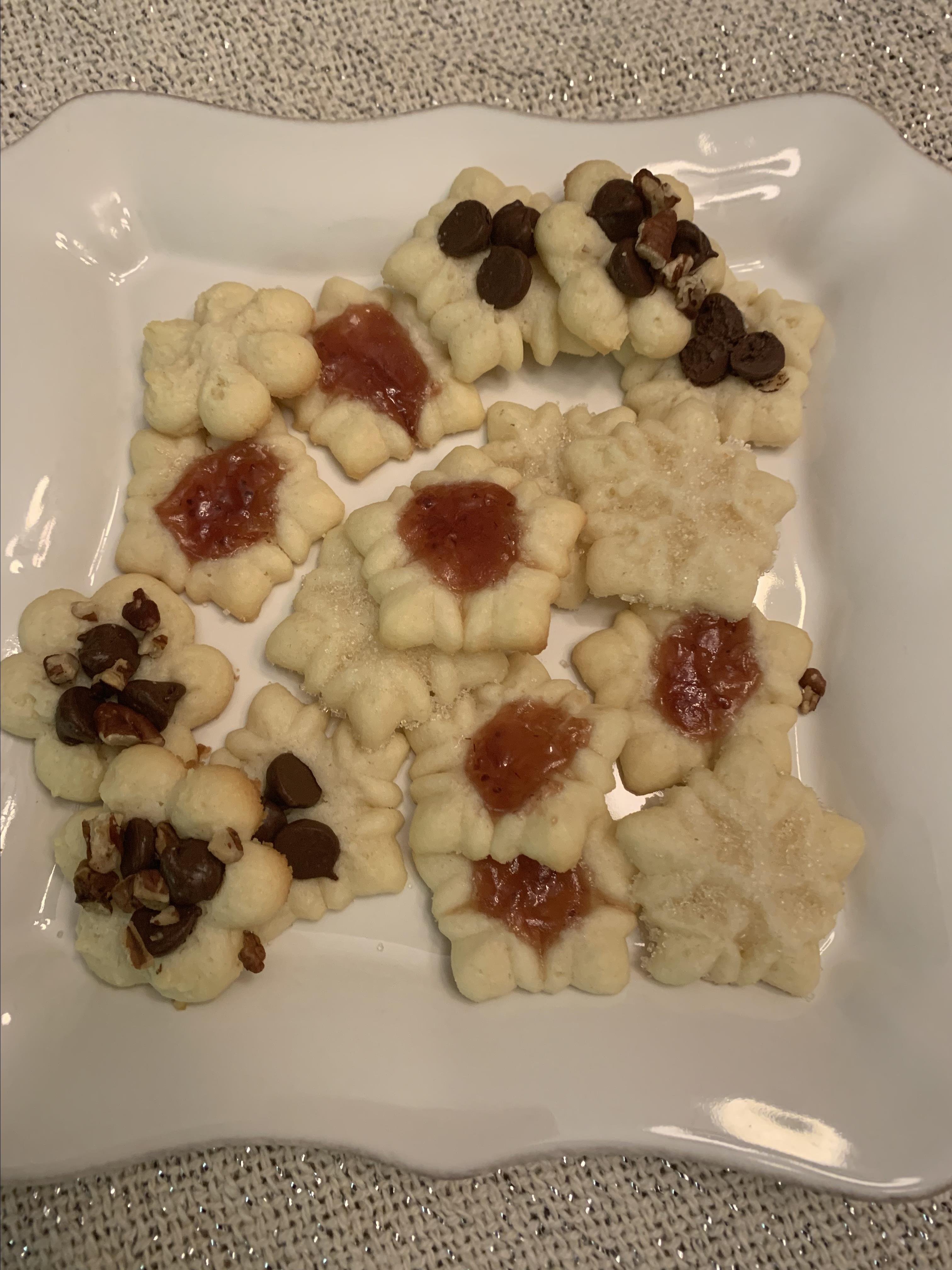 Cream Cheese Cookies I Patti Barton