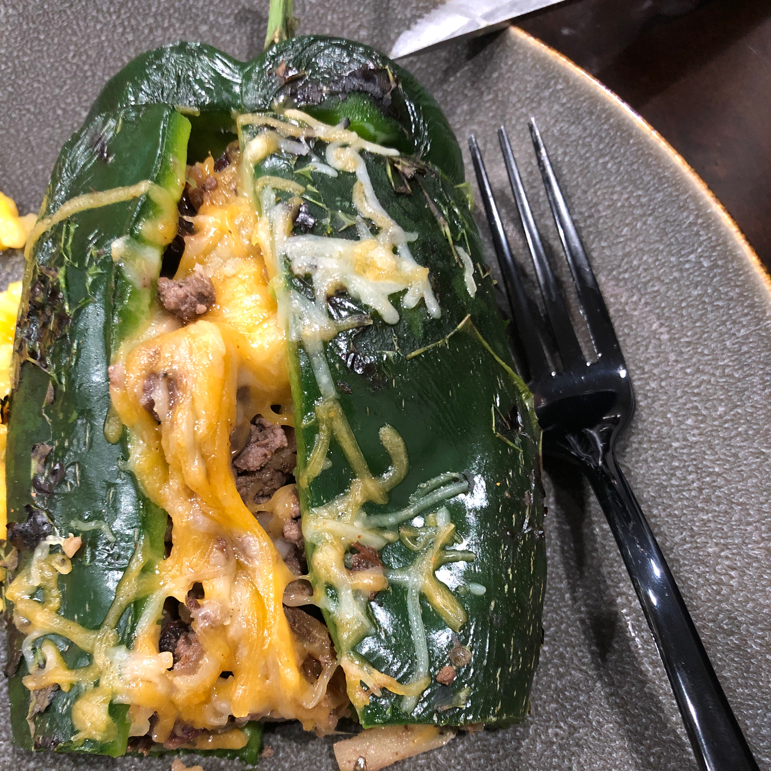 Chiles en Nogada (Mexican Stuffed Poblano Peppers in Walnut Sauce) Stela