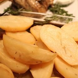 Greek Style Potatoes Pepper