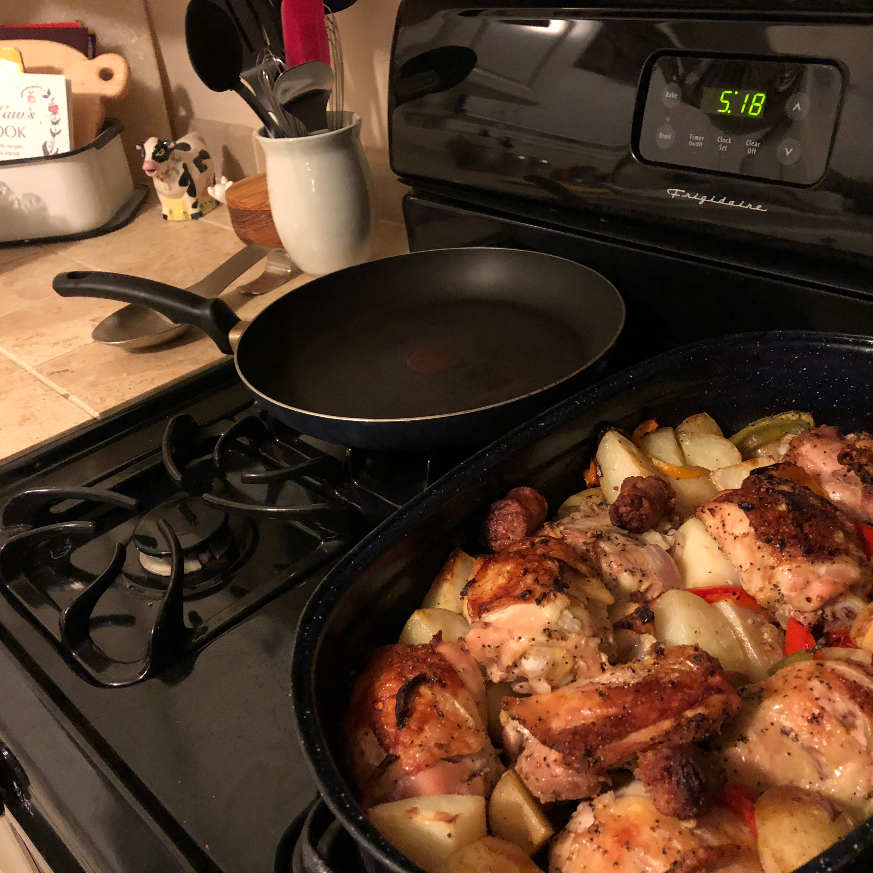 Chicken, Sausage, Peppers, and Potatoes