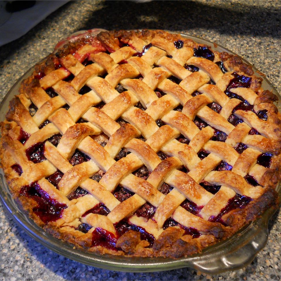 Grandma's Blueberry Pie mwpierce