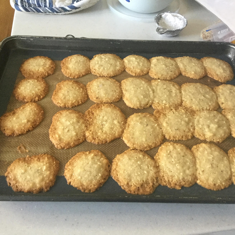 Almond Crescent Cookies Nancy