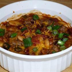 Three Bean Potluck Casserole